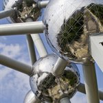 The Atomium, the symbol of Europe's Capital Brussels