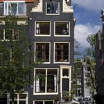 Traditional house, Jordaan in Amsterdam