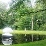 Three dimentional art at the sculpture garden in De Hoge Veluwe National Park