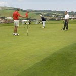 Golf at Freshwater, Isle of Wight